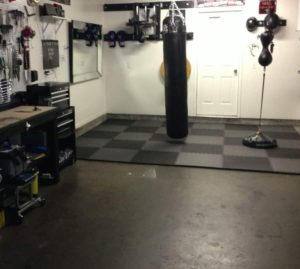 How to build an awesome home boxing gym